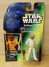 New 1996 Kenner Star Wars: Power of the Force Admiral Ackbar Holo Card