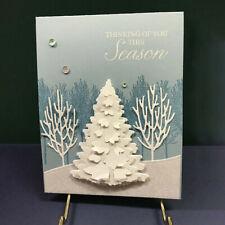 Christmas Tree Metal Cutting Dies Scrapbooking Paper Cards Craft Stencil Set DIY