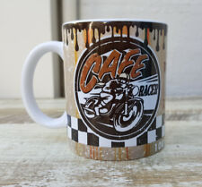 CAFE RACER TEA COFFEE MUG CUP WORKSHOP MAN CAVE GARAGE OFFICE MAKES A COOL GIFT
