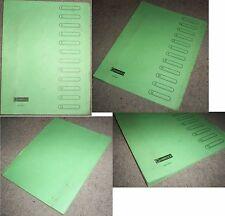 Classeur trieur format A4 12 compartiments carton vert Cambidge