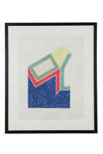 Frank Stella , Moultonville, 1974, signed lithograph