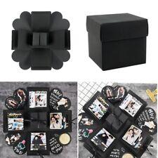 DIY Surprise Explosion Box Creative Square Photo Album Memory Gift Box Romantic