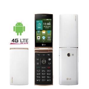 "LG Wine Smart LG D486 Android Quad Core 4G LTE 3.2"" 1GB RAM 4GB ROM Flip Phone"