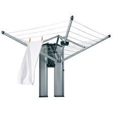 Brabantia Wall Mounted Foldable Washing Line Dryer - 24m- Protection/Storage Box