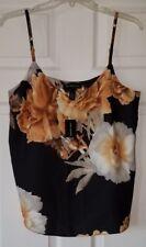 $59 NWT INC Womens Baroque Begona Printed Camisole Blouse Top Size M Medium