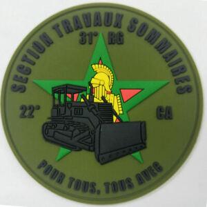 GENIE / 31° RG 22° CIE APPUI SECTION TERRAINS SOMMAIRES pvc 2D