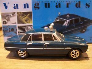 Vanguards Rover 3500 V8 P6 Metropolitan Police Blue RARE