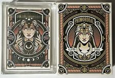 Primordial Aether Playing Cards GOLD GILDED w/Carat Case & Sleeve Costa Pantazis