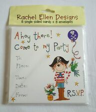 Party 8x Invitations and envelopes