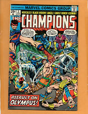 CHAMPIONS #3 Marvel comic book !!  FN