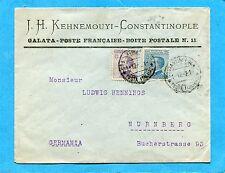 COSTANTINOPOLI - MICH.c.25 e c.50 ann.COSTANTINOPOLI / POSTE ITALIANE (203325)