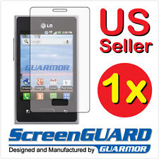 Clear LCD Screen Protector Guard Cover Film for LG Optimus logic L35G L38C NET10