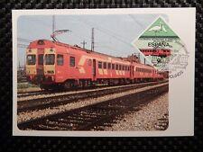 Spain Mk ferrocarril Train Bird maximum tarjeta Carte maximum card mc cm a7846