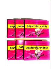 Papier d'Armenie, Room Deodorizer, La Rose, Francis Kurkdjian Mix,  6  Booklets