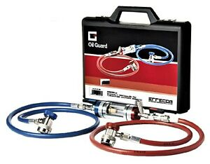 Klimaanlage Diagnosegerät Öl-Prüfgerät für Klimaanlagenprüfung Adapter R134a
