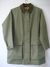 English Womens Grenfell Cotton Walker Hiker Jacket Coat Outdoor Windproof