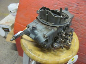 Holley 80508 Carb 750 cfm Hot Rod Race Used Read Vacuum Secondaries