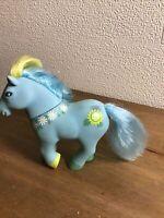 Rare Vintage Original 1984 My Little Pony Lanard Toys Mommy Sunshine Pony
