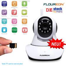 Funk WLAN IP Kamera WIFI Pan/Tilt Überwachungskamera Nachtsicht Babyphone Webcam