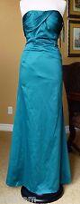 NWT BCBG Maxazria Women's Size 4 Silky Harbor Blue(Turquoise) Cocktail Dress
