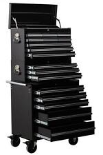 Professional 17 Drawer Tool Stack combination chest roller cabinet set PTC17