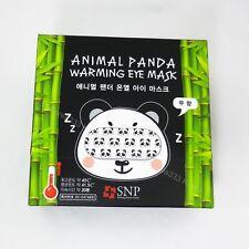 SNP Animal Panda Warming Eyes Masks 5 Sheets Sleeping Relaxes Heating