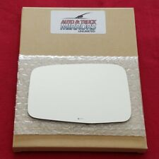 Mirror Glass + Adhesive For 11-12 Honda Cr-Z Driver Side Replacement