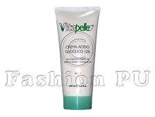Crema Acido Glicolico 12% 100ml - Smagliature Rughe Acne Macchie Vitapelle