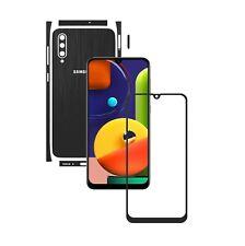 Samsung Galaxy A50s,1+1 FREI,Carbon Wrap Skin,Full Body Case Schutzfolie SPL
