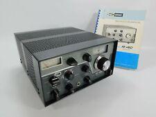 Drake R-4C Vintage Ham Radio Receiver + Crystals + Manual (works great) SN 23291