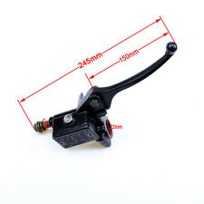 10mm Front Right Hydraulic Brake Master Cylinder Lever Dirt Bike Motorcycle XQ