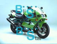 Green ABS Aftermarket Fairing Bodywork Kit Kawasaki ZX-7R 1996-2003 013 D7