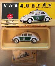 Vanguards by Lledo plc VA12002 VW Polizei Beetle - Brand New in Box 1:43 scale