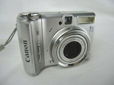 Canon PowerShot A570IS 7.1MP Digital Camera w/ 4x Zoom Tested & Working