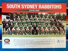 ✺New✺ 2015 SOUTH SYDNEY RABBITOHS NRL Poster - 42 x 29.5cm