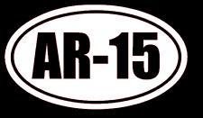 AR-15 Vinyl Decal Sticker Car Window Wall Bumper Gun Ammo Assault Rifle 5.56x45