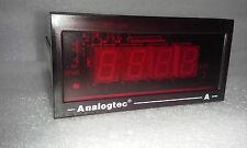 Industrial Grade Digital Panel Meter - Meas: 10 AMP - Input: 50mV - Pwr: 120VAC