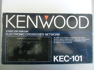 KENWOOD, Model KEC-101, 2 Way, Electronic Car Stereo Crossover Network