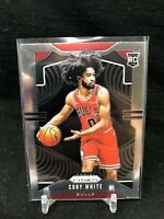 COBY WHITE 2019-20 Panini Prizm Base Rookie Card RC Chicago Bulls #253 S46