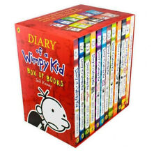 Diary of a Wimpy Kid 12 Book Box Set, Jeff Kinney | NEW