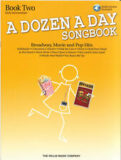 DOZEN A DAY SONGBOOK Broadway Movie Pop Book 2*