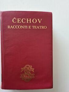 Checov, Racconti e teatro, Sansoni, prima edizione 1966