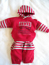 Gestreifte Baby-Kleidungs-Sets & -Kombinationen für Jungen aus Baumwollmischung