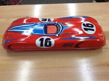 GRAND PRIX RACER TIN FRICTION TOY WEST GERMANY