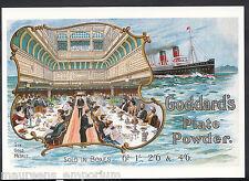 Advertising Postcard - Goddard's Plate Powder - Cunard Ships  MB2442