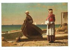 Postcard Winslow Homer Dad's Coming! Nat'l Gallery Art Wash DC Unused MNT