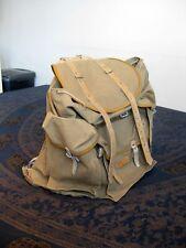 Real Vintage Authentique sac à dos LAFUMA SGDG - Original backpack 1950's