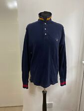 Ralph Lauren Da Uomo Polo a maniche corte-Boston Color Navy Taglia UK MEDIUM