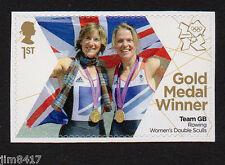 2012 SG 3347 1st GB Olympic Gold Medal Winners Granger & Watkins Rowing