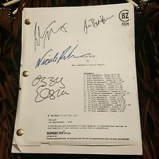 2001 ~ Moulin Rouge Movie Film Script Nicole Kidman Ewan Mcgregor Ozzy Osbourne